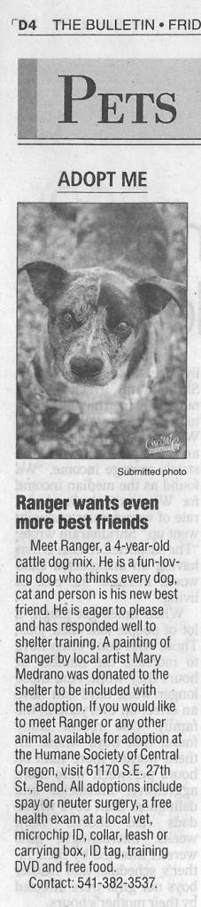 Bulletin Ranger 11-1-13