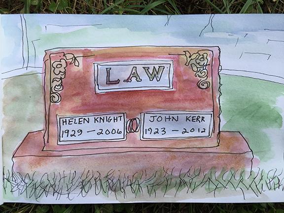 Mom & Dad Gravesite